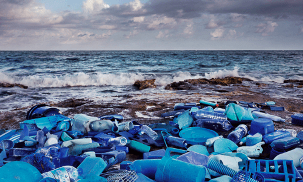 Surreal Photos Show Impact of Plastic Pollution on One of the World's Most Beautiful Places