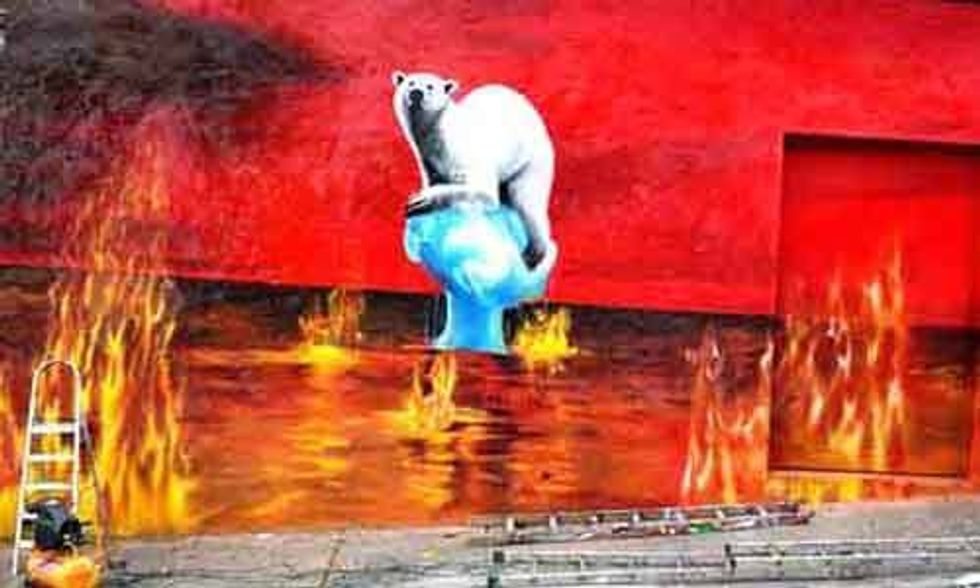 13 Powerful Murals That Show Human's Impact on the Earth