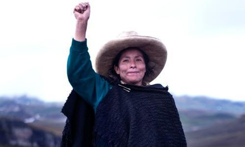 150,000 Stand With Peruvian Woman in Fight Against World's Largest Gold Mine