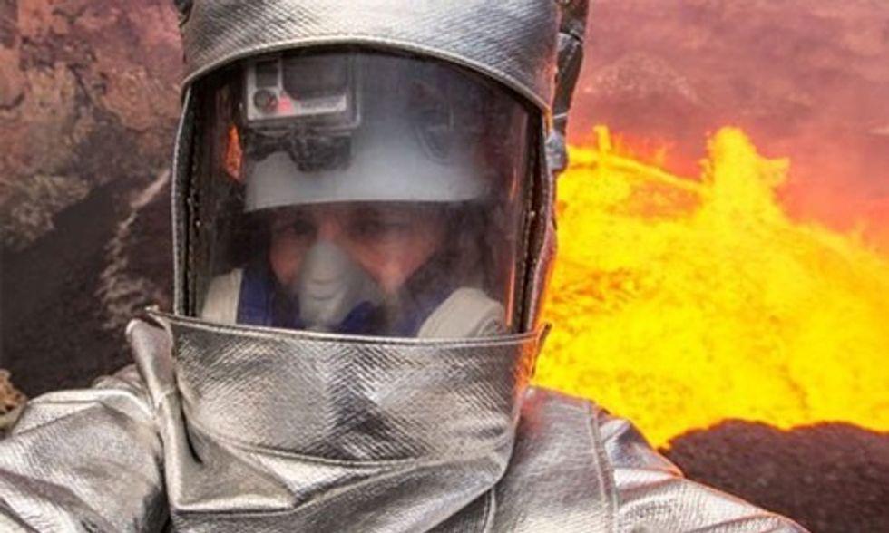 Watch Exclusive Trailer: George Kourounis Descends Into World's Most Active Volcano