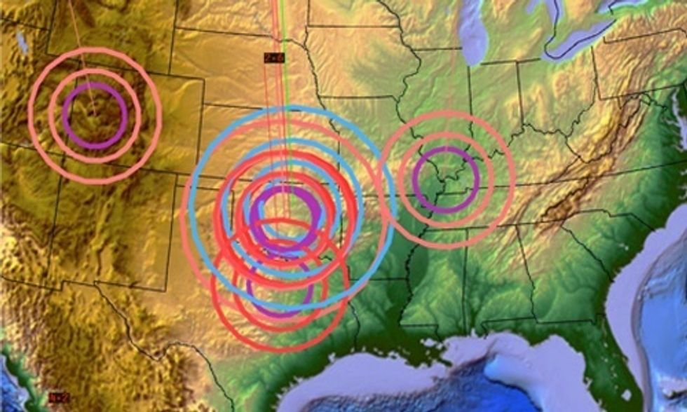8 States Dealing With Huge Increases in Fracking Earthquakes