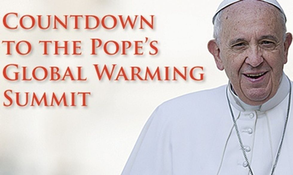 Heartland Institute Tells Pope Francis: 'Humans Are Not Causing a Climate Crisis on God's Green Earth'