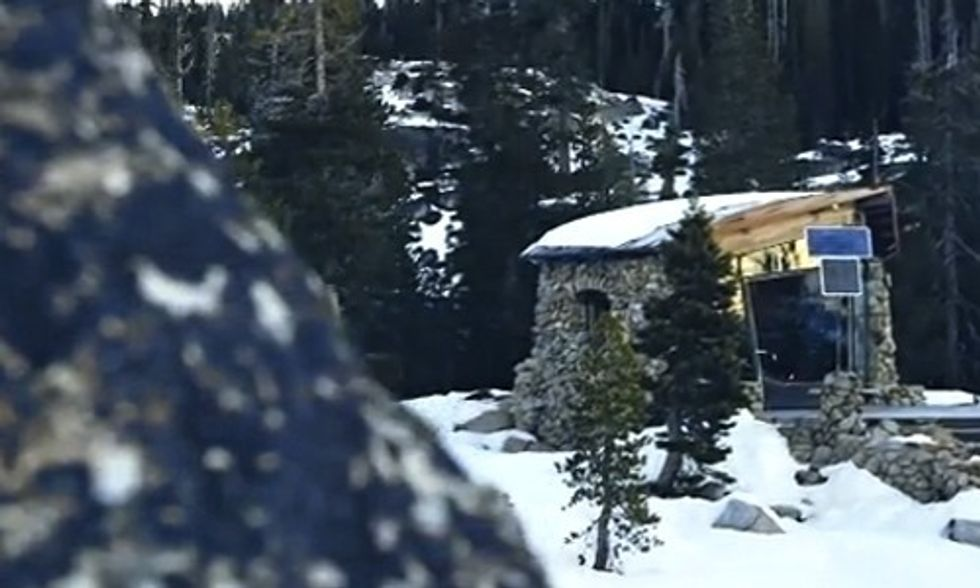 You've Got to See This Remarkable Off-Grid Cabin Built by Snowboarding Legend Mike Basich