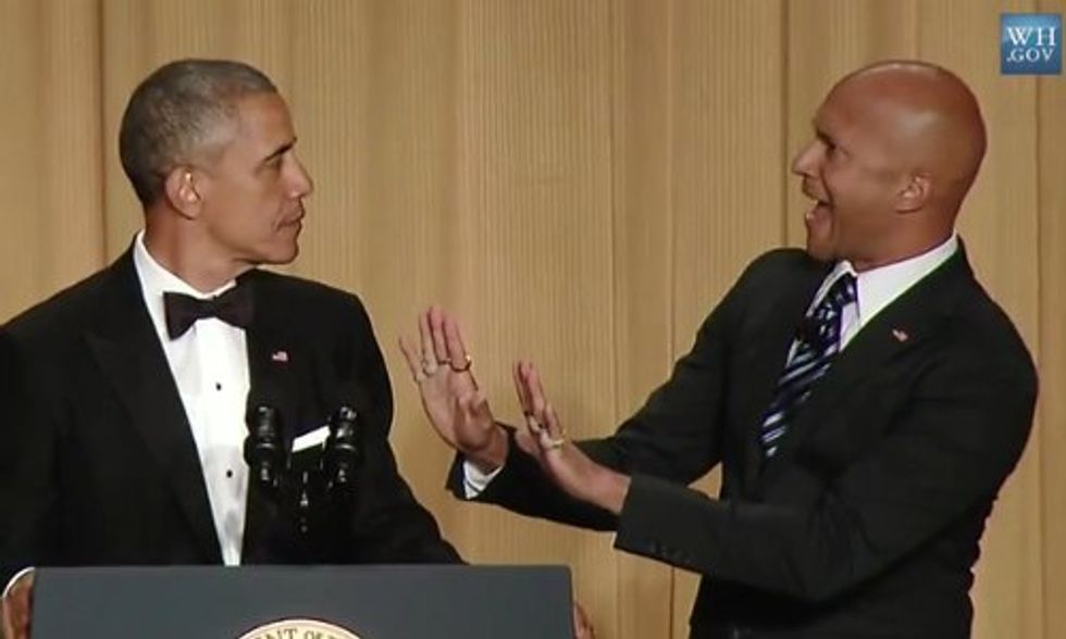 Must-See: Obama's Key and Peele Skit at White House Correspondents' Dinner