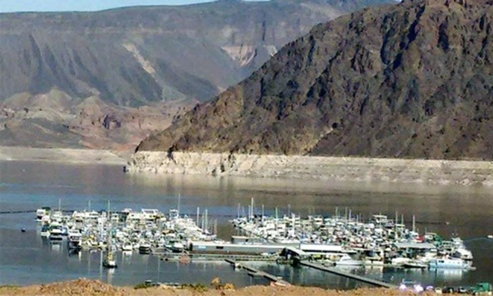 This Is What Epic Drought Looks Like: Lake Mead Hits Historic Low