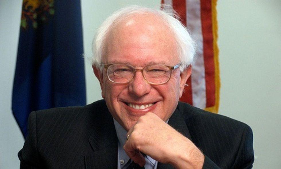 It's Official: Bernie Sanders Says He's Running for President