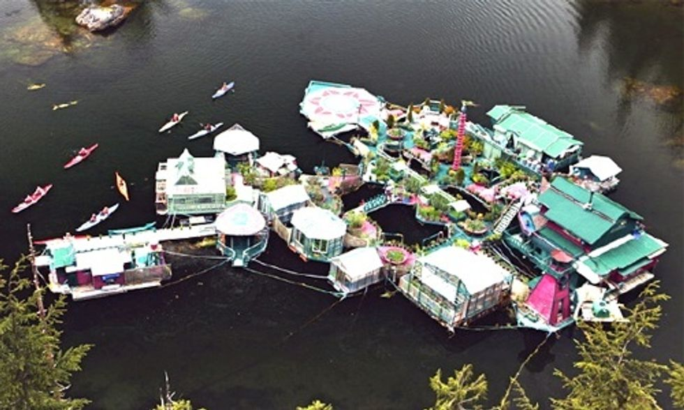 This Self-Sustaining Island Paradise Is Something to See