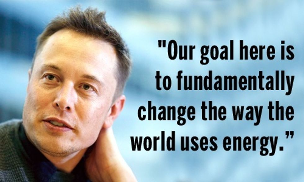 Elon Musk: Tesla Battery Will 'Fundamentally Change the Way the World Uses Energy'