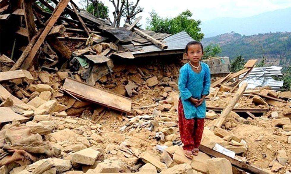 5 Horrifying Images from the Nepal Earthquake