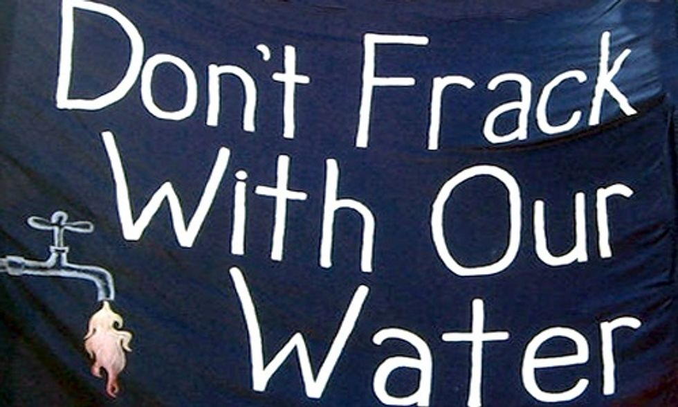 Fracking Chemicals Found in Drinking Water, New Study Says