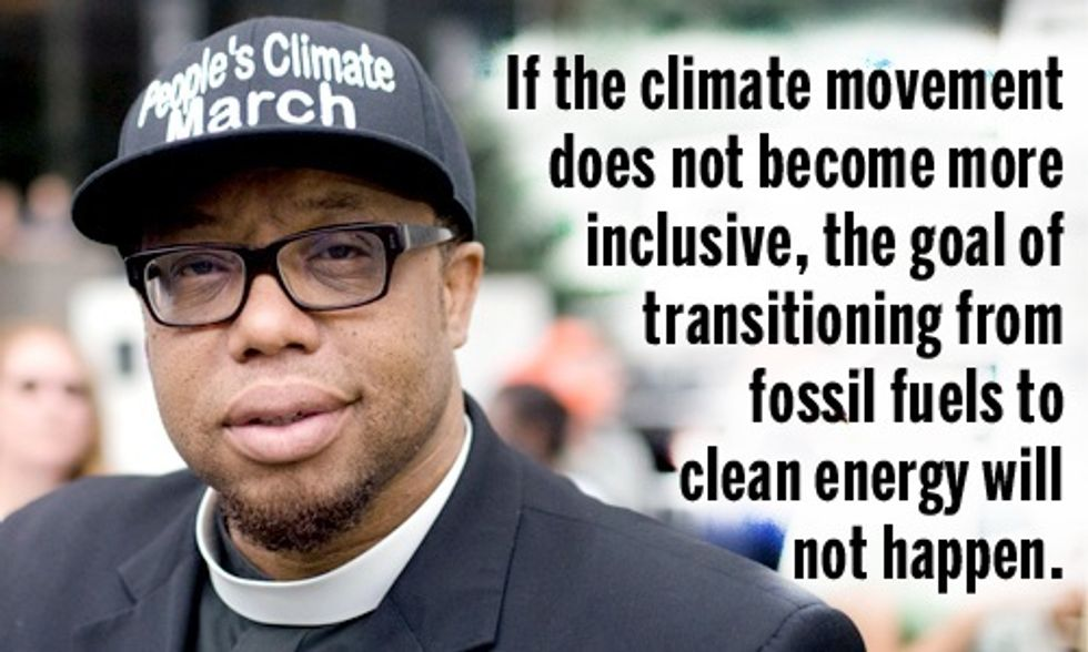 Rev. Yearwood: How We Reach Critical Mass to Stop Climate Chaos