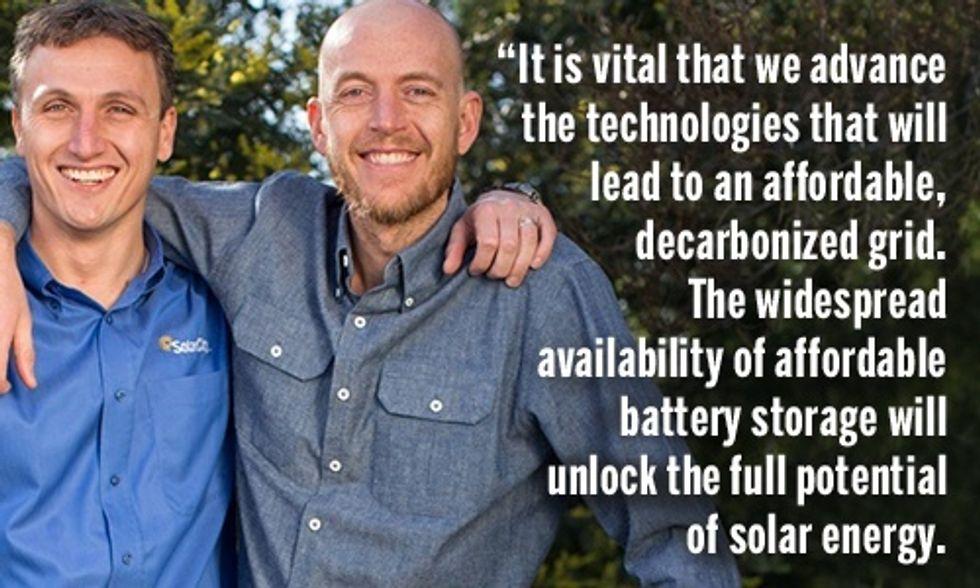 Elon Musk's Tesla Battery + SolarCity's Solar Systems = Clean Energy Future