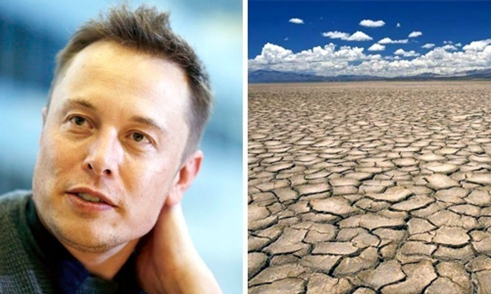 Can Gov. Brown Use Elon Musk's Secret Sauce to Solve Epic Drought?