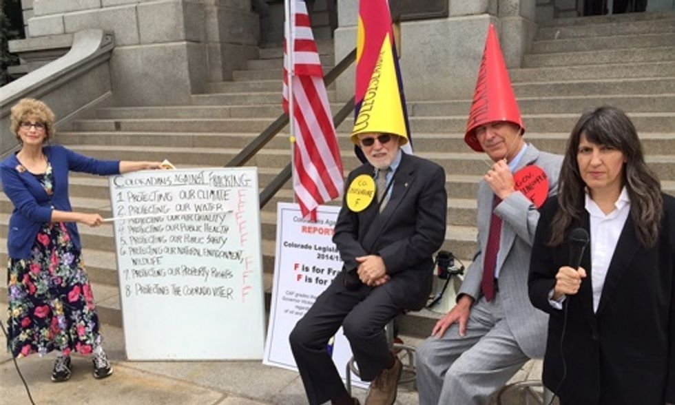 Coloradans Give Gov. Hickenlooper and State Legislature an 'F' for Failing to Address Fracking