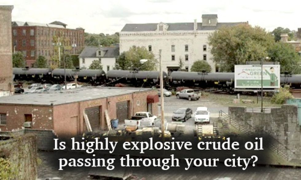 Are Dangerous Bomb Trains Rolling Through Your City?