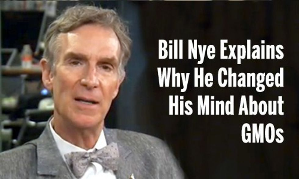 Bill Nye: GMOs Aren't 'Inherently Bad,' But Have 'Unintended Consequences'
