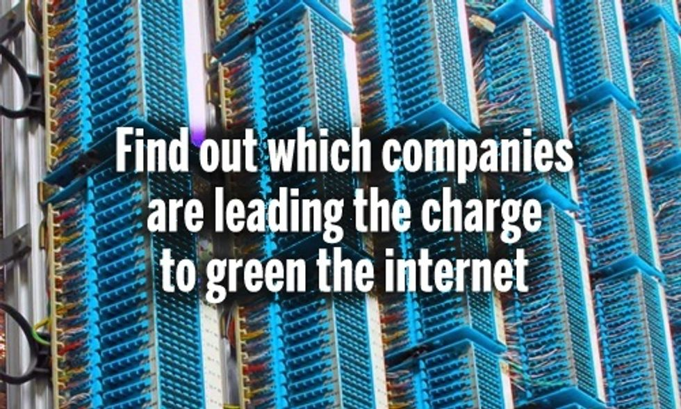 9 Companies Leading the Charge to Green the Internet (And 7 That Aren't)
