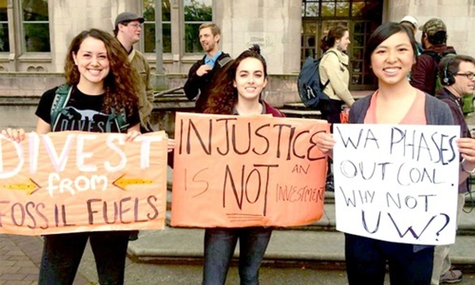 Victory! University of Washington Divests from Coal