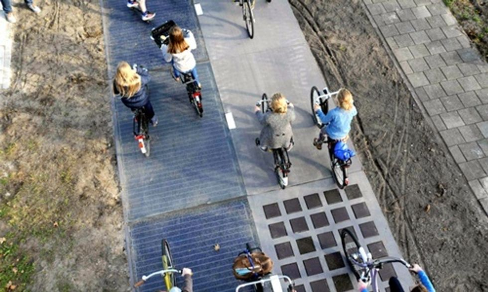 World's First Solar Road Already Generating More Power Than Expected