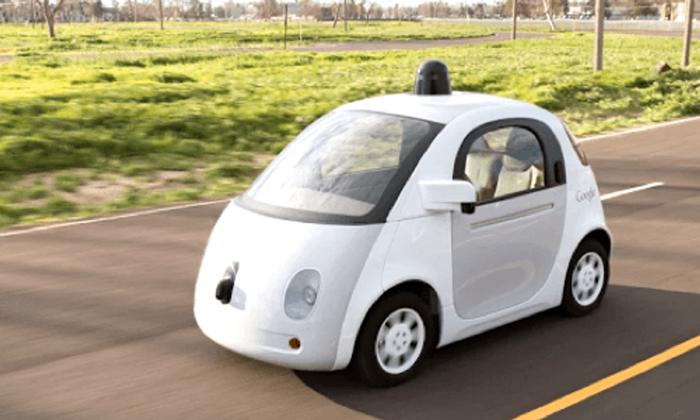 Google's Self-Driving Car About to Hit Public Roads