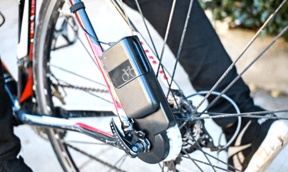 Charge Your Battery While You Bike to Juice Up Your Phone