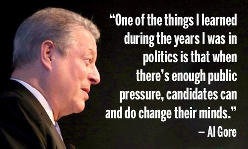 4 Climate Surprises From Al Gore in Iowa