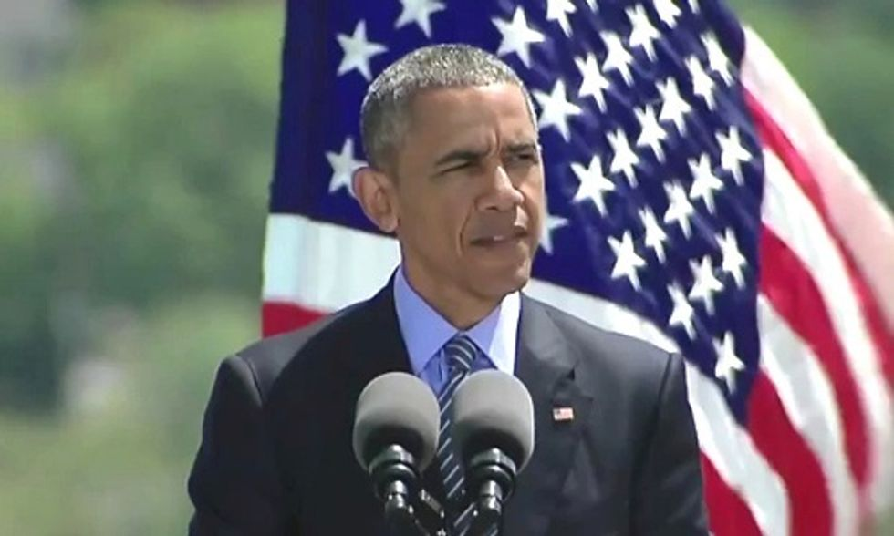 President Obama: Climate Change Is an 'Immediate Risk to Our National Security'