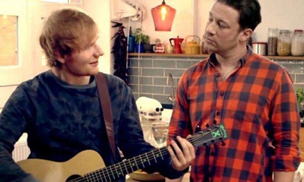 Food Revolution Rap: Jamie Oliver, Ed Sheeran, Paul McCartney, Hugh Jackman and More