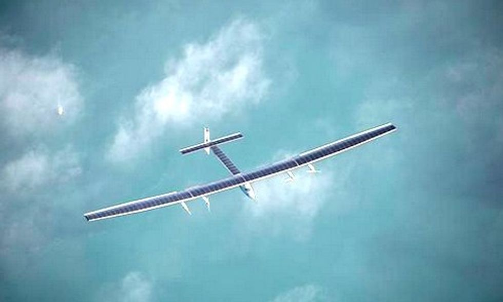 Solar Impulse Attempts Historic Flight Across the Pacific