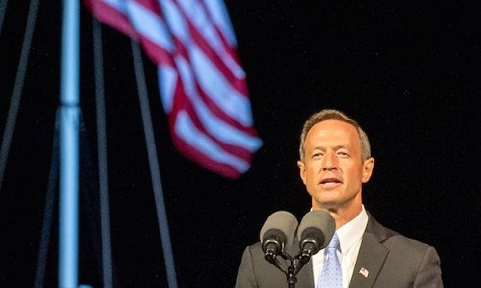 Martin O'Malley Enters Presidential Race Calling Climate Change 'Greatest Business Opportunity to Come to Our Country in 100 Years'