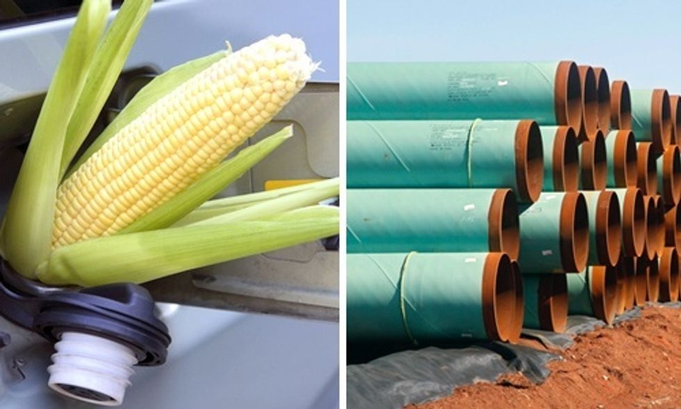 Corn Ethanol Is Worse for the Climate Than the Keystone XL Pipeline, According to EPA's Own Estimates
