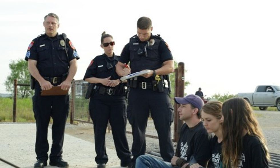 3 Arrested in Denton As Oklahoma Joins Texas in Banning Fracking Bans