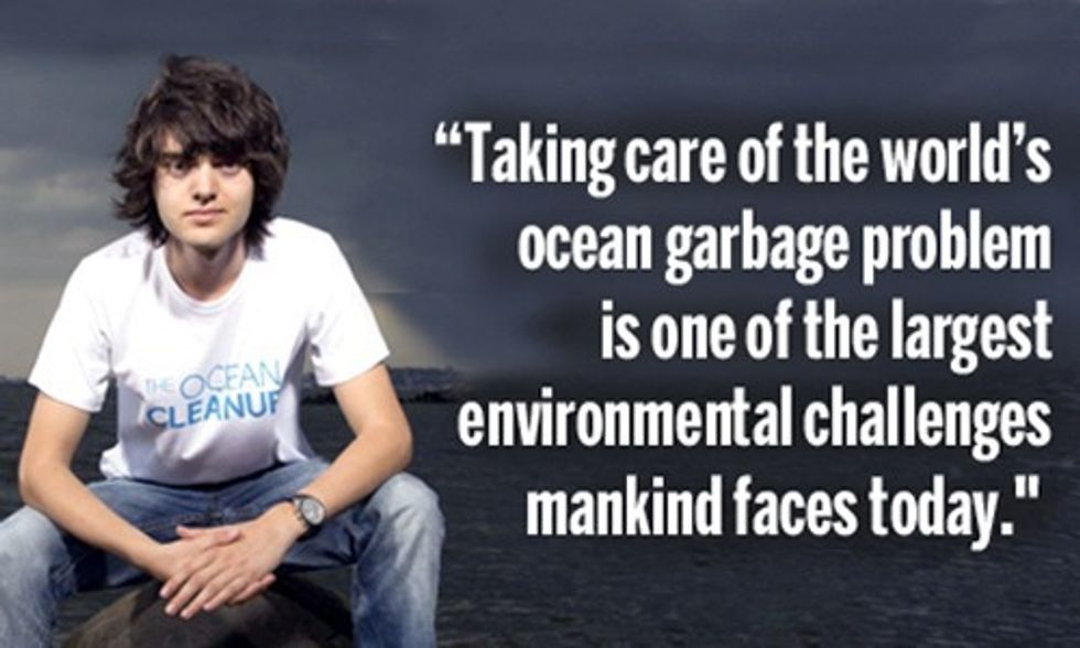Boyan Slat to Deploy 'Longest Floating Structure in World History' to Clean Ocean Plastic