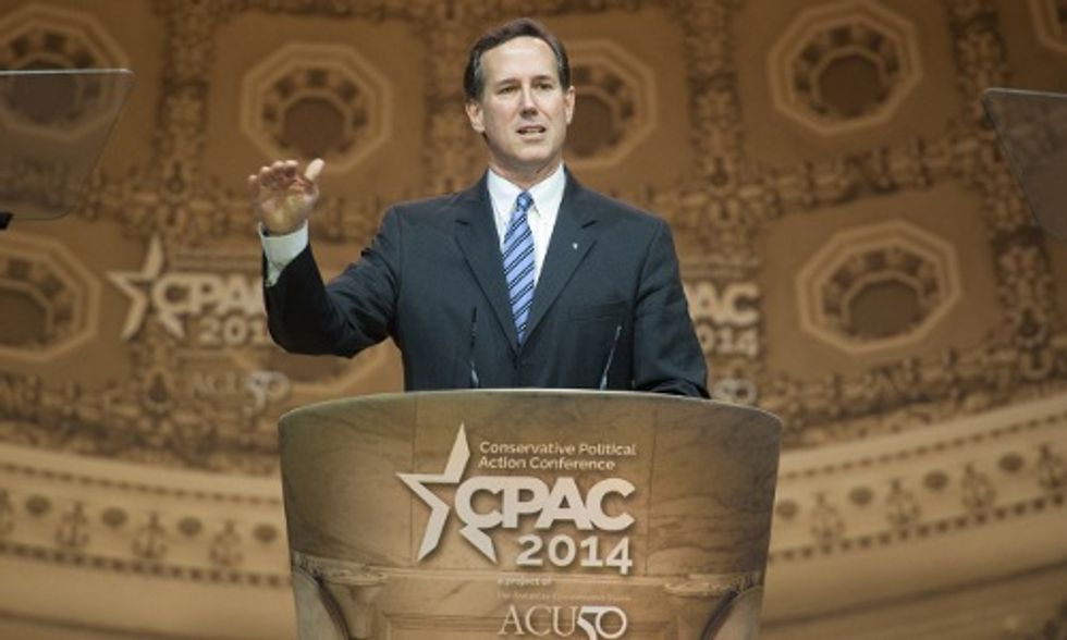 Santorum to Pope Francis: Police Bedrooms Not Climate Issues