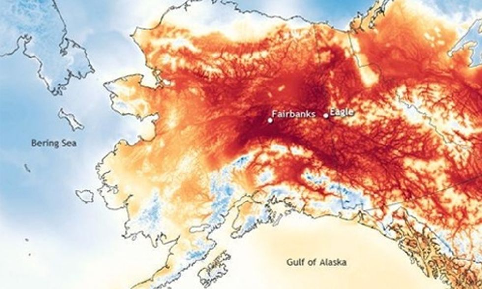 Insane Heat Wave in Alaska Put Temperatures Higher Than in Arizona