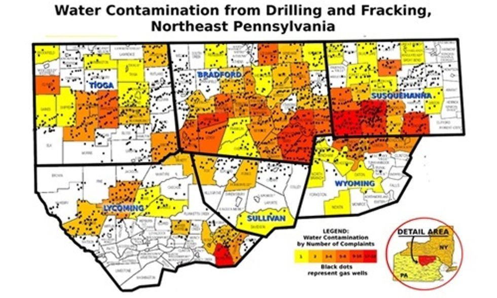 Fracking Does Cause 'Widespread, Systemic' Contamination of American's Drinking Water