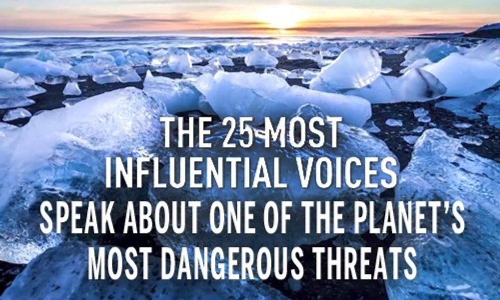 25 of the Most Powerful Voices on Climate Change Brought to You by The Weather Channel