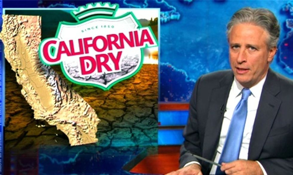 Jon Stewart: 'It's Time to Get Real' About California's Epic Drought