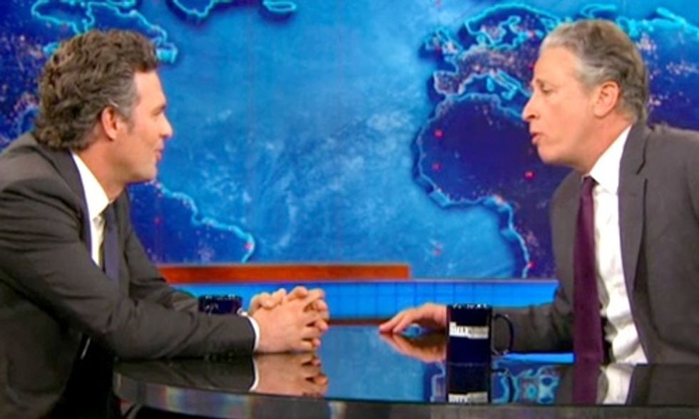 Mark Ruffalo to Jon Stewart: We Have a 50-State Plan to Power America on 100% Renewable Energy