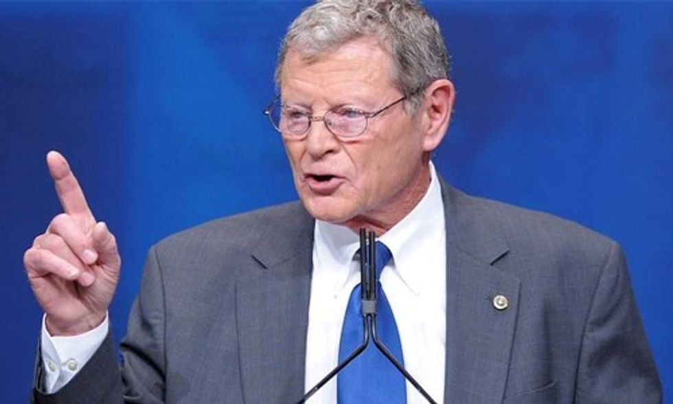 Senator James Inhofe to Pope Francis: Butt Out of Climate Debate