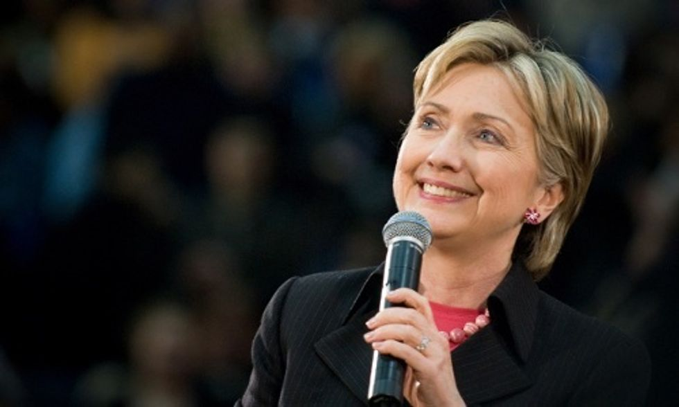 Hillary Clinton: Climate Change Is 'One of the Defining Threats of Our Time'