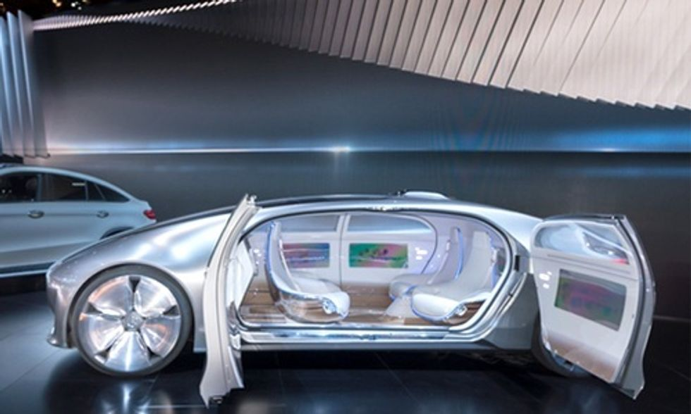 The Car of the Future Will Be All Electric and Self-Driving