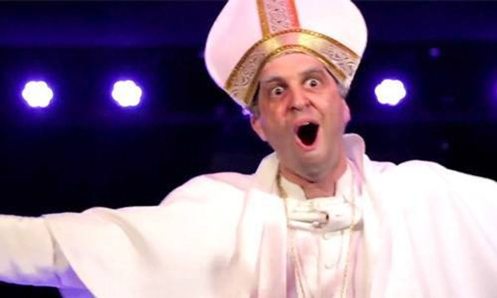 Pope Francis' Must-See Hilarious Encyclical Rap