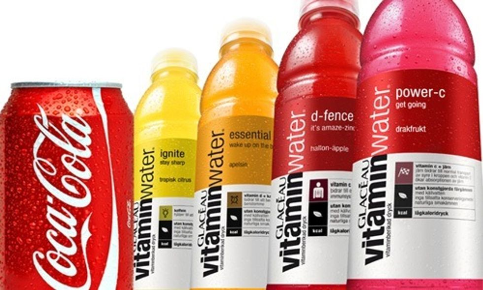5 Reasons Why Vitaminwater Might Be Just as Bad for You as Coke