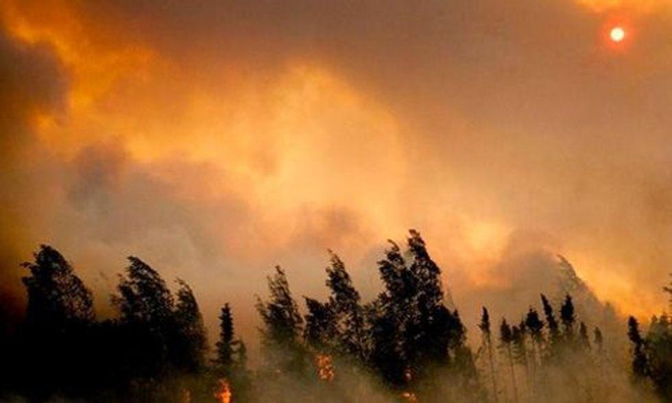 Alaska's Heat Wave Ignites Fires as Glaciers Rapidly Melt