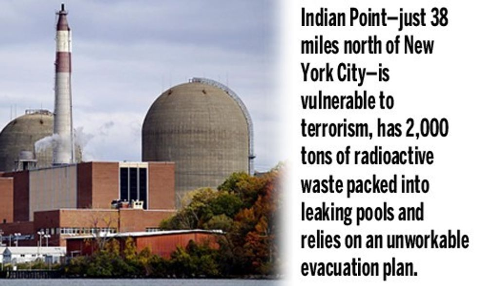 Aging Nuclear Power Plant Must Close Before It Closes Us