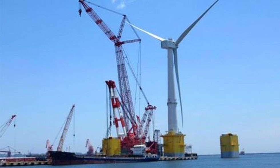 World's Largest Offshore Wind Turbine Unveiled in Fukushima