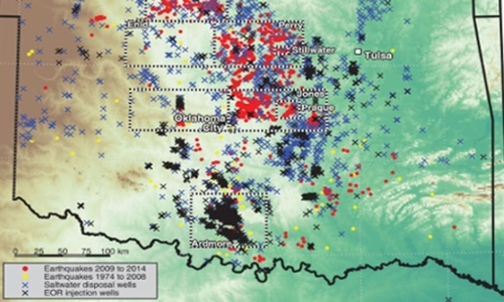Earthquakes Tied to Fracking Boom, Two New Studies Confirm