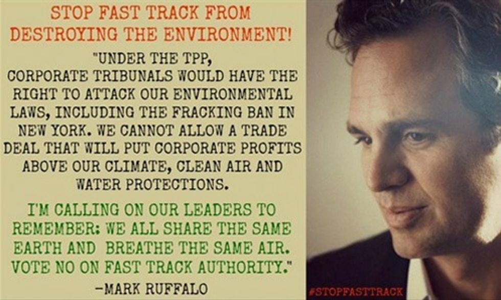 Why the Senate Must 'Vote No' on Fast-Tracking the TPP