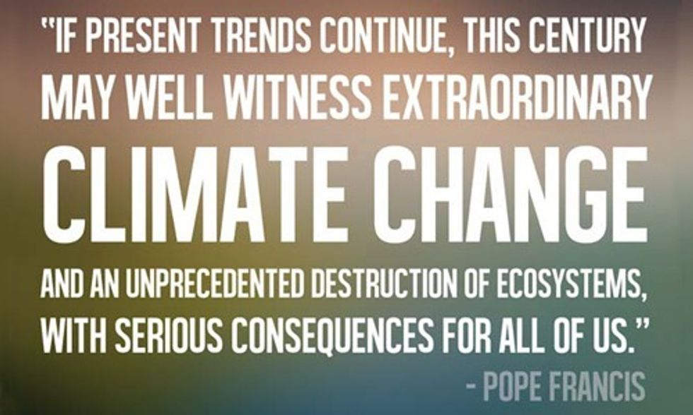 David Suzuki: Pope's Encyclical Is a 'Scientifically and Morally Valid Call for Radical Change'